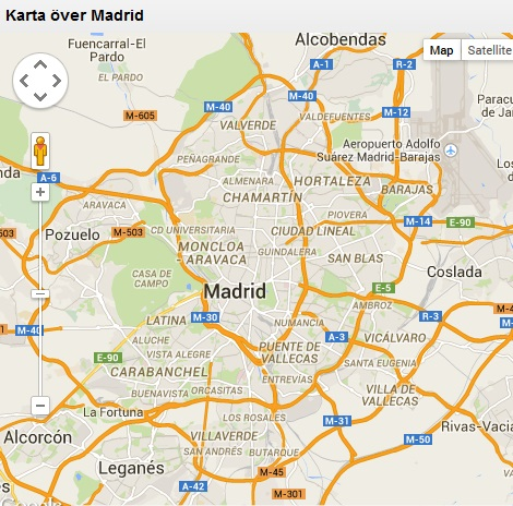 kart over madrid Madrid: Reisetips og våre hoteller – NYHETER OG REISETIPS fra  kart over madrid